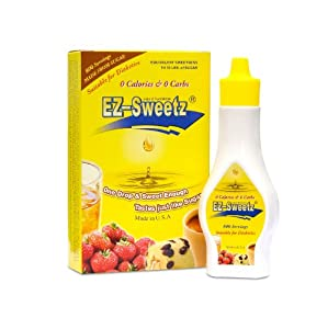 EZ-Sweetz (2oz - Liquid Sweetener 800 Servings/Bottle)