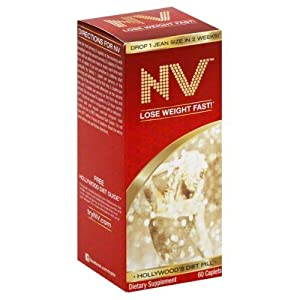 NV Hollywood's Diet Pill, Caplets 60 caplets ( Multi-Pack)