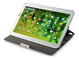 UltraSlim Case Tasche Samsung Galaxy Tab 3 10.1 P5200 3G P5210 WiFi Hülle mit Sleep / Wake-Up und Standfunktion Schutzhülle Cover in weiß
