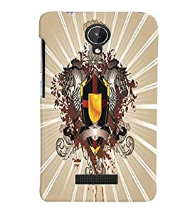 GADGET LOOKS PRINTED BACK COVER FOR Micromax Canvas Spark Q380 MULTICOLOR