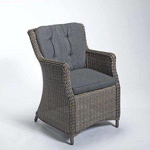 Sessel Luna Farbe: Vintage Grau / Anthrazit