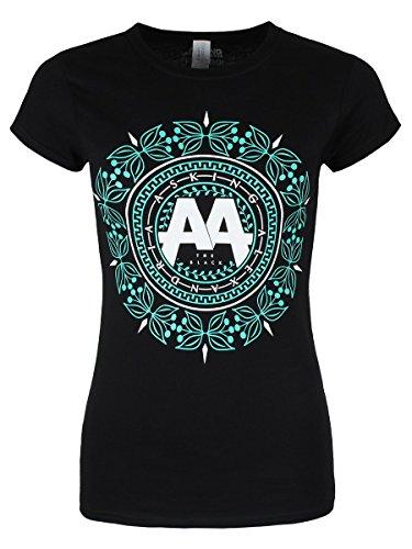 Asking Alexandria -  T-shirt - Stampa  - Donna Nero  nero