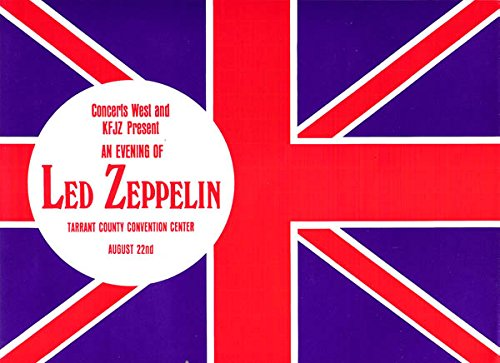 Vintage Music Poster Led Zeppelin - Us Summer Tour