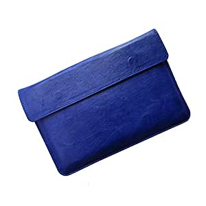 i-KitPit : PU Leather Pouch Case For Lava E-Tab XTRON (BLUE)