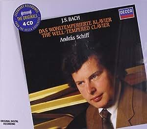Bach : Le clavier bien tempéré (Coffret 4 C D)