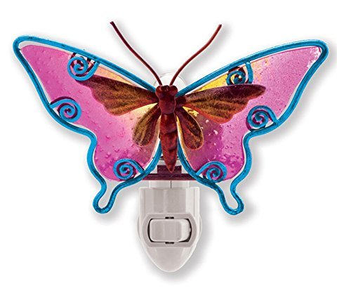 Puzzled Night Light, Butterfly - 1