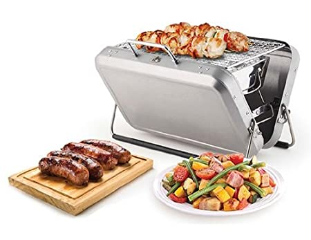 Portable Briefcase Barbeque by Kikkerland