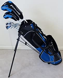 Boys Junior Golf Club Set with Stand Bag for Kids Ages 8-12 Jr. Right Handed Premium... by PG Golf Equipment