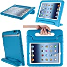 i-Blason iPad Mini / iPad Mini with Retina Display Case - ArmorBox Kido Series Convertible Stand Cover Case for Kids Friendly (Blue)