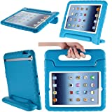 i-Blason ArmorBox Kido Series Light Weight Super Protection Convertable Stand Cover Case for Apple New iPad Mini 7.9 Inch for Kids Friendly (Blue)