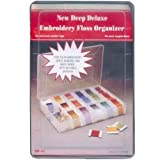 Large Embroidery Thread Organiser Box New Deep Deluxe