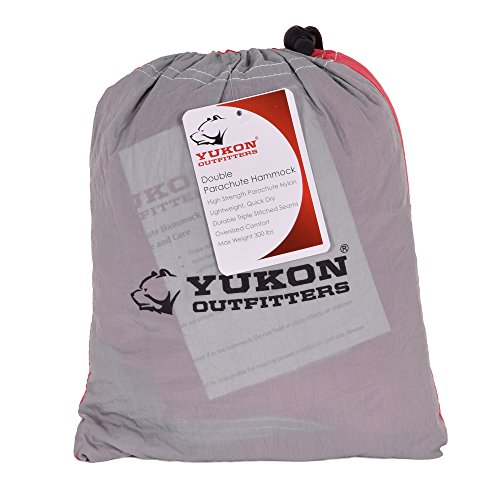 Yukon Outdoors MG10502 2 Nylon Parachute DBL Hammock