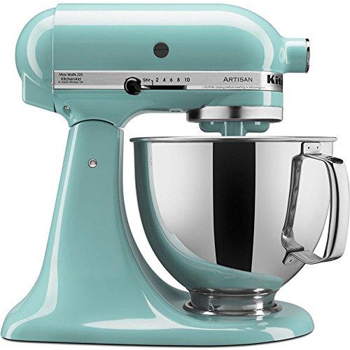 KitchenAid Artisan Series 5-Quart Tilt-Head Stand Mixer in Aqua Sky - KSM150PSAQ ;P#O455K5/U 7RK-B274201 (Kitchen Aid Aqua Stand Mixer compare prices)