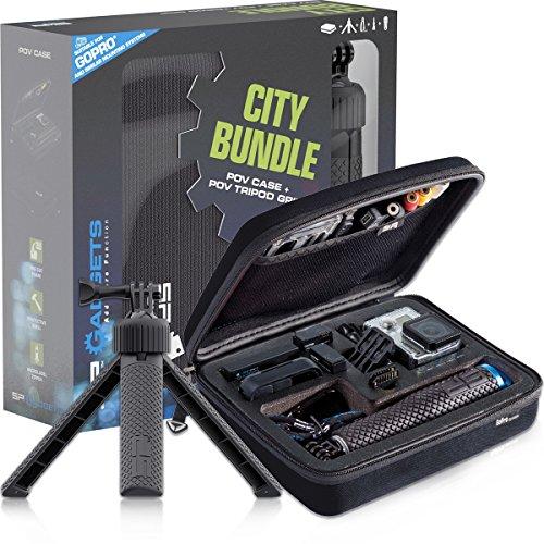 SP-Gadgets-Cabriolet City Kit con treppiedi per fotocamera GoPro, taglia S, colore: nero