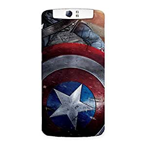 Gorgeous Rounded Sheild Back Case Cover for Oppo N1