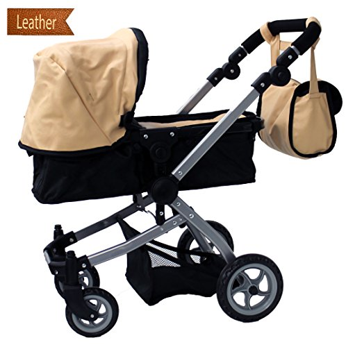 New Babyboo Doll Swiveling Adjustable Carriage