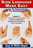 echange, troc Sign Language Series 1-4 [Import anglais]