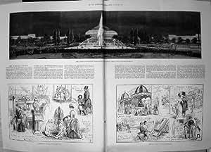 Mostra Antica di Invenzioni della Luce Elettrica delle Fontane dei Giardini della Stampa 1885