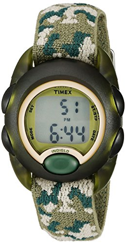 Timex Kids' T71912 Digital Watch with Camouflage Nylon Band