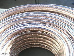 Cable enceinte Cuivre Argent 50/50 2 X 2,5 mm² 5 Metres