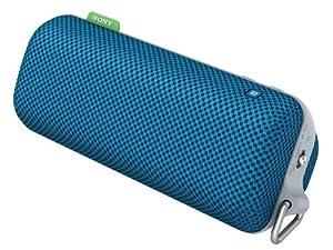 Sony SRSBTS50 Portable Splash-Proof NFC Bluetooth Wireless Speaker System (Blue) (Discontinued by Manufacturer)