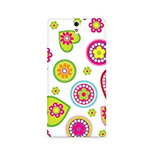 Ebby Ethnic Hearts Premium Printed Case For Sony Xperia C5