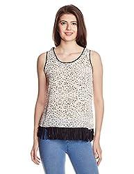 Mineral Women's Body Blouse Shirt (PU16A-620 WT_Ecru_X-Large)