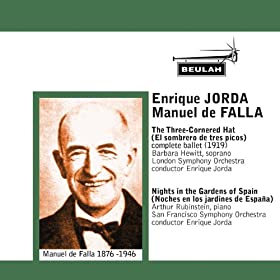 Enrique Joda Conducts Manuel de Falla