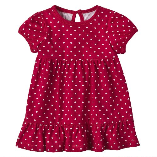 Newborn Girls' Circo® Red Dress 9M