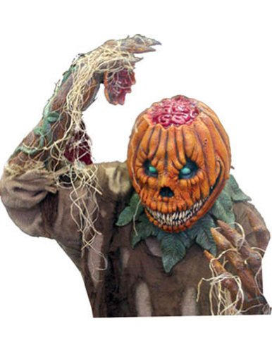 Scary-masks Pumpkin Rot Latex Mask - Most Adults