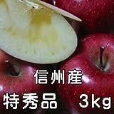 サンふじりんご3kg6玉~12玉 特秀品 信州産 お歳暮 人気 長野サンふじりんご ランキングお取り寄せ