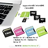 Ariic New Mini Drive Micro SD TF Card to SD Slot Adapter for MacBook Air/Pro/Retina Black