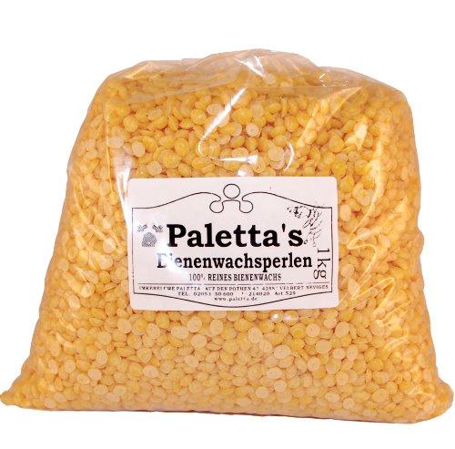 Palettas Bienenwachsperlen 1 kg Bienenwachs 100% rein Pastillen thumbnail