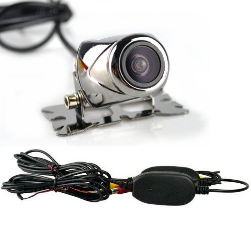 Generic Wireless Car Rear View Led Reverse Backup Parking Camera Night Vision Black