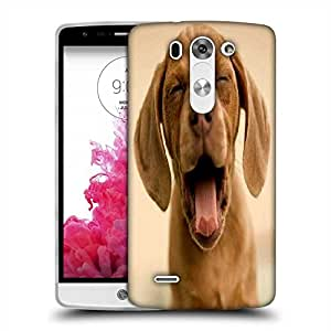 Snoogg Puppy Yourning Designer Protective Phone Back Case Cover For LG G3 BEAT