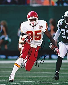Jamaal Charles Autographed Hand Signed Kansas City Chiefs 8x10 Photo by Real Deal Memorabilia