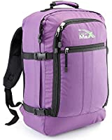 Cabin Max - Sac à dos et bagage à mains pour cabine - capacité brute de 44l - 55x40x20cm - Couleur : Violet