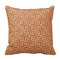 Home Sofa Chair Decorative Rectangular Print Pillow Case Zippered Back Cushion Cover
