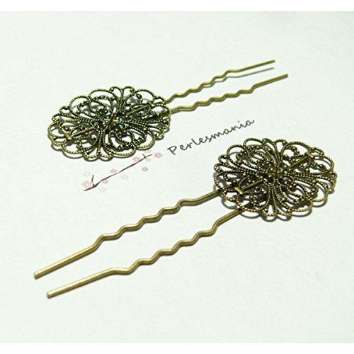 10 epingles barrettes à cheveux vintage ref19441