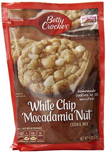 Betty Crocker White Chocolate Chip Macadamia Nut Cookie, 14 Ounce
