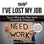 Help! I've Lost My Job: Tips on What to do When You're Unexpectedly Unemployed: Business Professional Series, Book 5 | Richard Lowe Jr