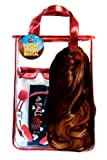 High School Musical Back Pack with Wig and Accessories, Dark Brown