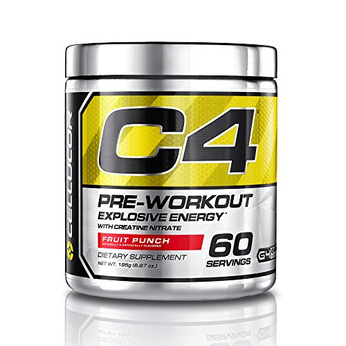 Cellucor C4 Pre Workout Supplements with Creatine, Nitric Oxide, Beta Alanine and Energy, 60 Servings, Fruit Punch, 13.75 Oz (390 g) (C4 Fruit Punch 30 Servings compare prices)