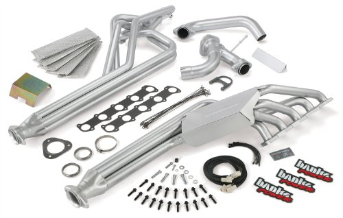 Banks Power 49188 TorqueTube Exhaust Manifolds; For 1997-04 Ford 6.8L MH-C; E-350; w/o EGR; Incl. Intake/TransferTube/Air Filter/Filter Housing/Head Shield/Exh. Manifolds/Y-Pipe/Muffler/Exhaust;