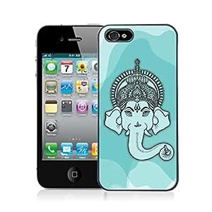 Ganesha 5(Ethnic Ganesha) Apple iPhone 5 Mobile Back Cover by iberrys