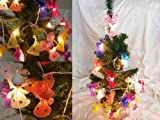 Desiam Brand Fairy String Lights for Bedroom and Home Decorate 20 Angles Per Set (Not Include Christmas Tree)