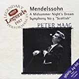 Mendelssohn: A Midsummer Night's Dream, Symphony No. 3 / Maag, London Symphony Orchestra