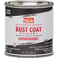 Rust Oleum 1100 Do it Best Rust Control Enamel-BLACK RUST ENAMEL