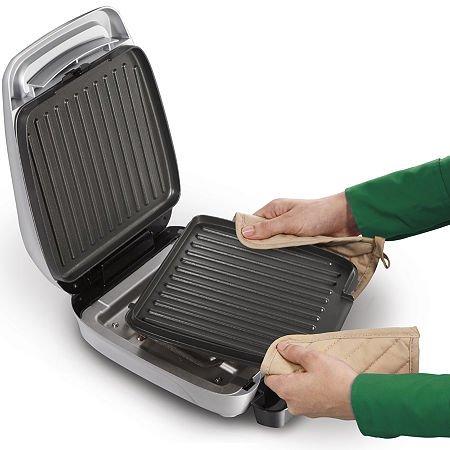 Hamilton beach 25359 hamilton beach electric indoor grill with removable plates home garden - Grill with removable plates ...