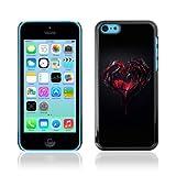 YOYOSHOP [Goth Dark Heart & Blood] Apple iPhone 5C Case